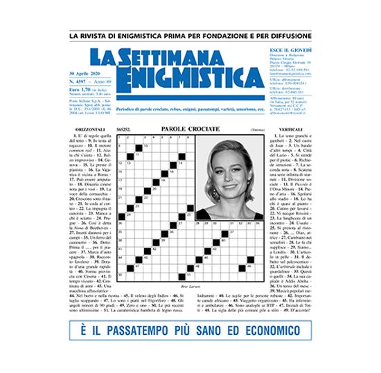 Immagine di ARRETRATI da Gennaio a Giugno 2020 LA SETTIMANA ENIGMISTICA (SOLO ITALIA)