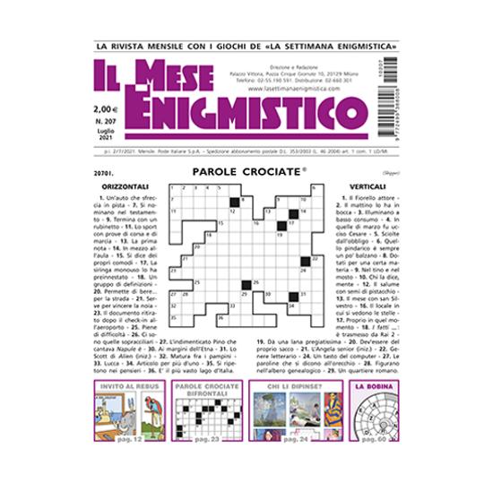 Immagine di ITALIA - IL MESE ENIGMISTICO - Abbonamento 12 mesi